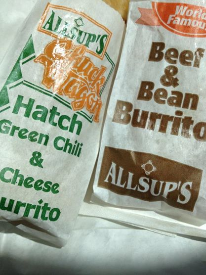 Allsup S Burritos Because We Can Eating New Mexico
