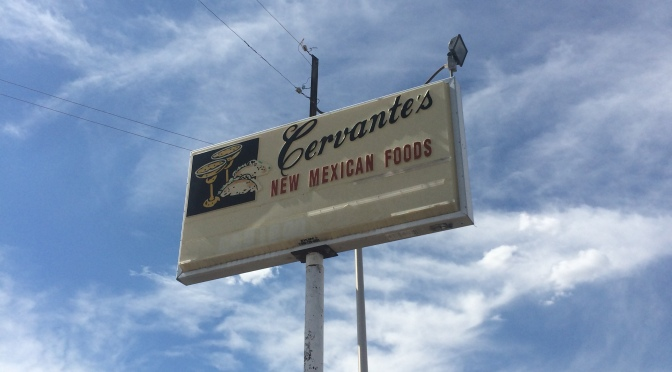 Cervantes Restaurant – Albuquerque – Great Red & Relleno
