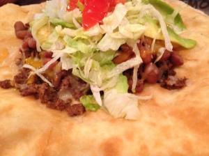 Indian Taco -- SO GOOD