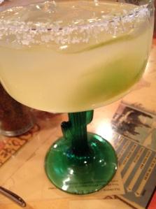 Margarita in a Cactus Glass.