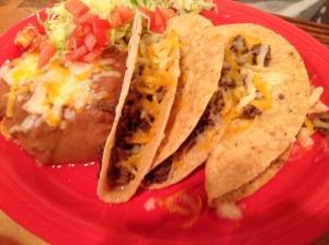 Taco Plate -- a NM Staple!