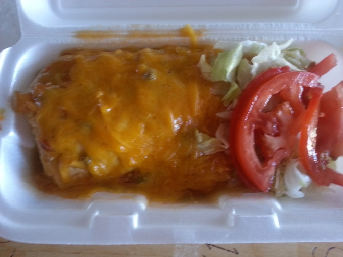 Blake's Lotaburger – Breakfast Burrito