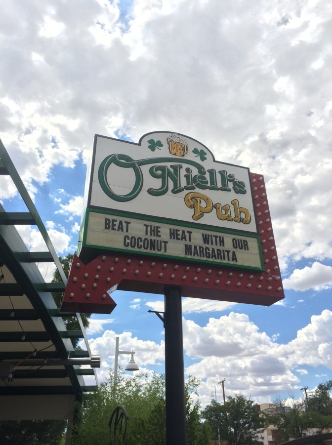 O'Niell's Pub – Albuquerque – Pub Food, Upgraded