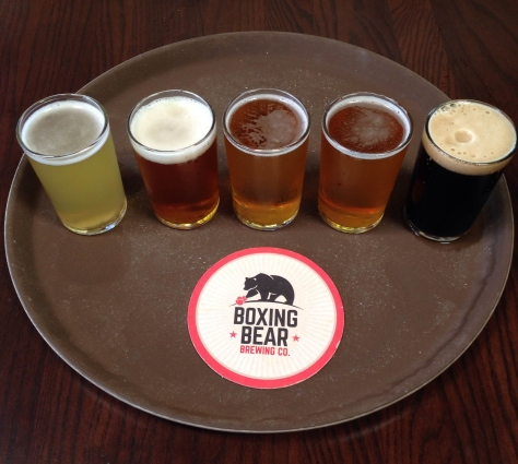 Boxing Bear Sampler