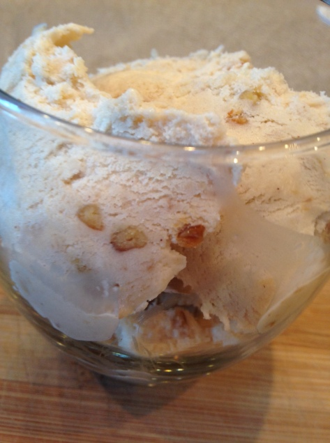 Caramel Apple Piñon Ice Cream