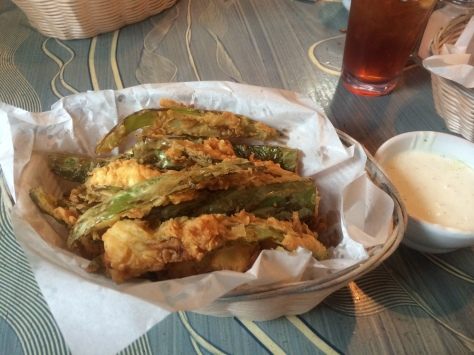 Casa Blanca Ruidoso, Fried Green Chile Strips