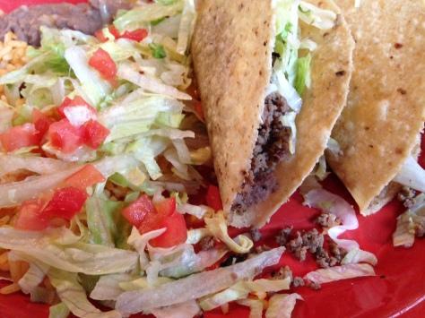 Taco plate, Casa Blanca