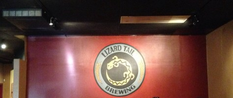 Lizard Tail Brewing - Logo Indoors