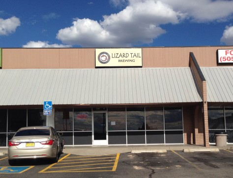 Lizard Tail Brewing - Strip Mall Location