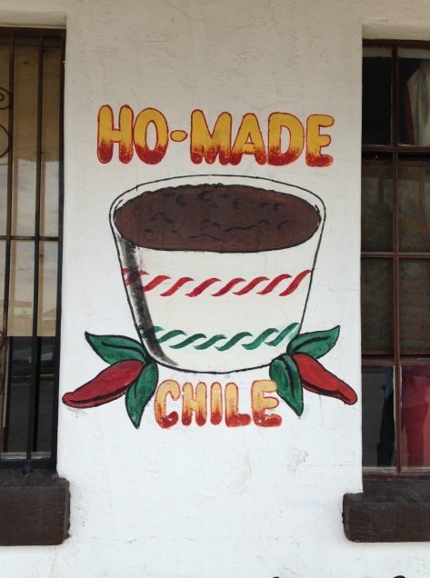 Ho-made chili at Outpost Bar & Grill