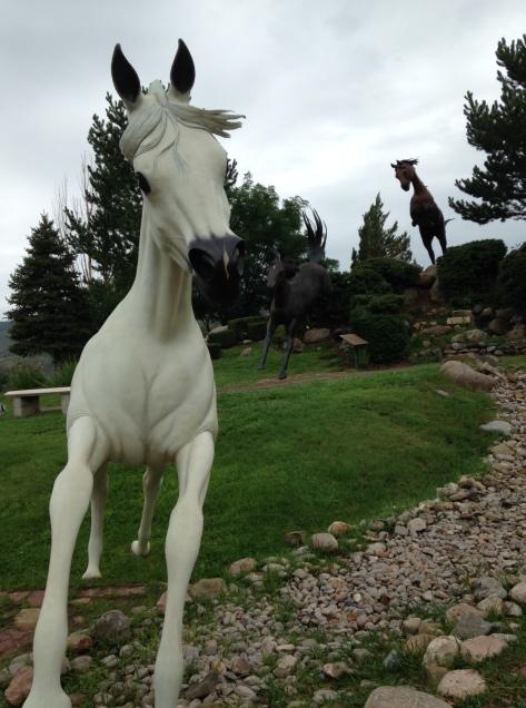 White Horse on the Run
