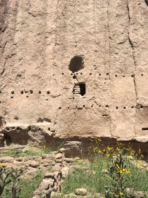 Bandelier Cliff Dwellings New Mexico