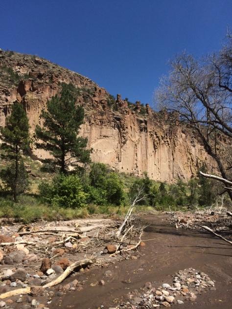 Frijoles Creek Bandelier