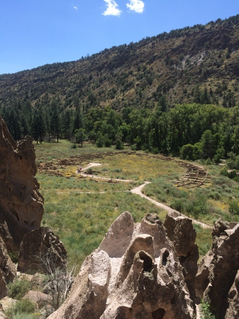 Tyuonyi Pueblo Ruins, Bandelier National Monument