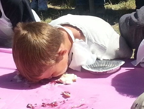 Pie Town - Pie Eating Contest Little T