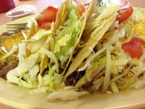 Burger Boy Taco Plate