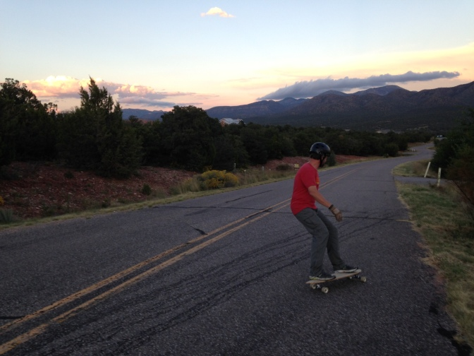 Surfing (and occasionally eating) Pavement in New Mexico + 8 Tips for Beginners