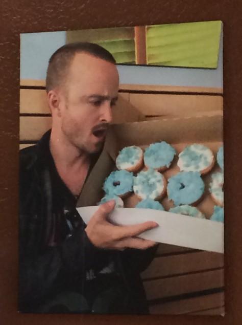 BrBa Aaron Paul Donuts