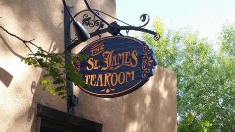 The St. James Tearoom, a quiet place for afternoon tea service in northwest Albuquerque.