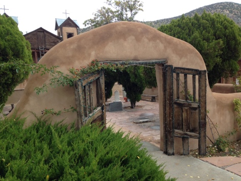 Chimayo Courtyard entryway