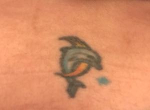 New Mexico Dolphin Tattoo
